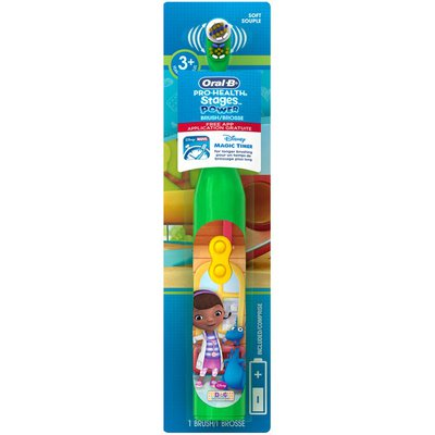 Oral-B Pro Health Stages Oral-B Pro-Health Stages Battery Toothbrush featuring Disney's Doc McStuffins Power Oral Care