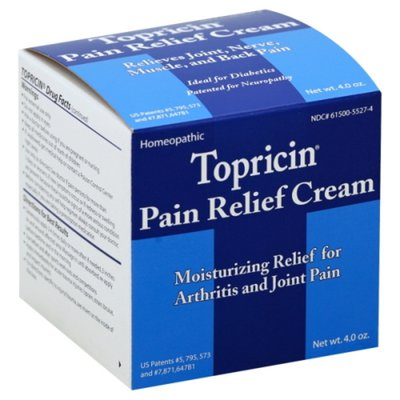 Topricin Homeopathic Pain Relief Cream