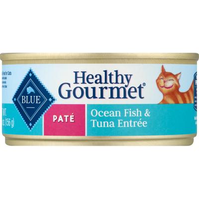 Blue Buffalo Cat Food, Ocean Fish & Tuna Entree, Pate
