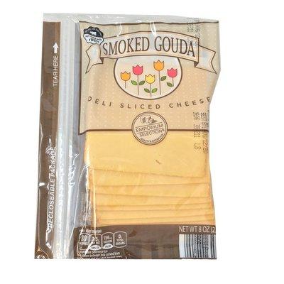 Happy Farms Preferred Deli Sliced Smoked Gouda Cheese