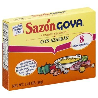 Goya Sazón Seasoning with Azafran