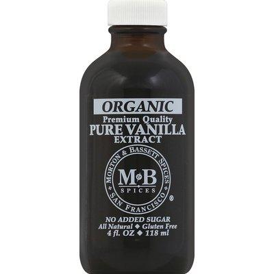 Morton & Bassett Spices Vanilla Extract, Pure, Organic