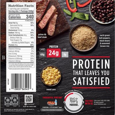 Stouffer's Protein Bowls Steak Fajita