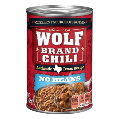 Wolf Chili Without Beans