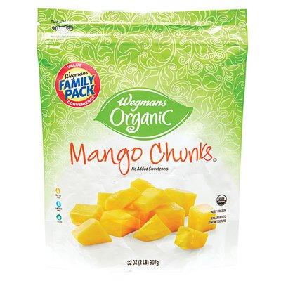 Wegmans Organic Family Pack Mango Chunks