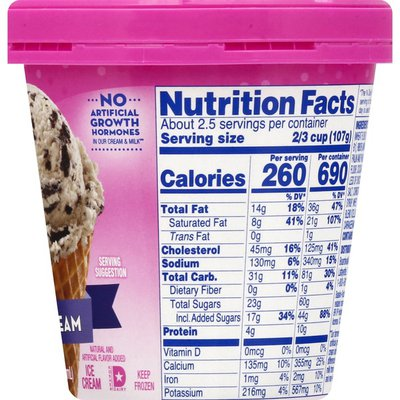 Baskin-Robbins Ice Cream, Cookies 'N Cream