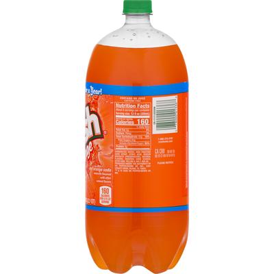 Pepsi Crush Orange Flavored Soda