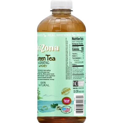 Arizona Green Tea, with Ginseng and Honey