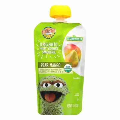 Earth's Best Organic Fruit Yogurt Smoothie Pear Mango