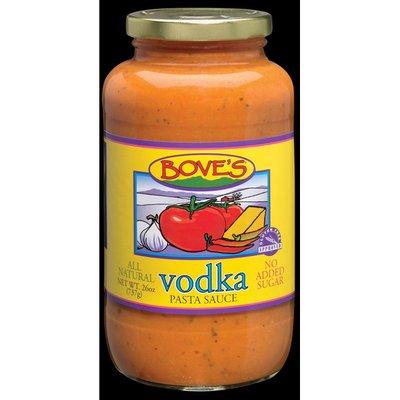 Bove's Pasta Sauce, Vodka