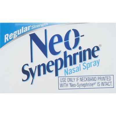 Neo-Synephrine Nasal Spray, Regular Strength