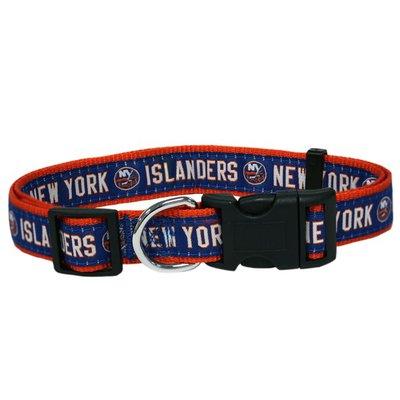 Pets First Medium New York Islanders Dog Collar