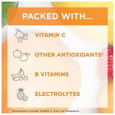 Emergen-C Vitamin C Fizzy Drink Mix Strawberry Kiwi, Vitamin C Fizzy Drink Mix Strawberry Kiwi