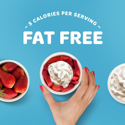 Reddi-wip Fat Free Dairy Whipped Topping