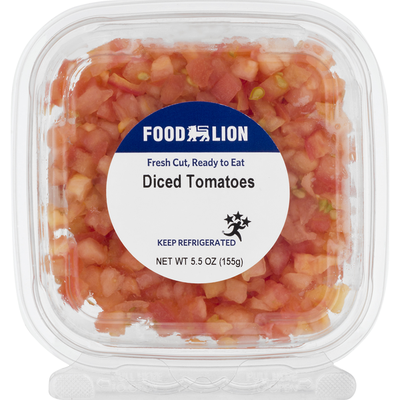 Food Lion Tomatoes, Diced