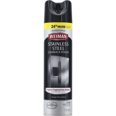 Weiman Stainless Steel Cleaner and Polish Aerosol