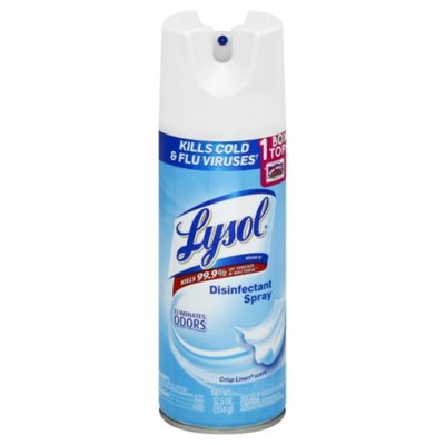 Lysol Disinfectant Spray, Crisp Linen Scent