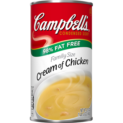 Campbell's® Condensed Family Size Fat Free Cream of Chicken Soup