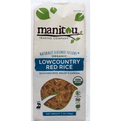 Manitou Trading Company Organic Lowcountry Red Rice
