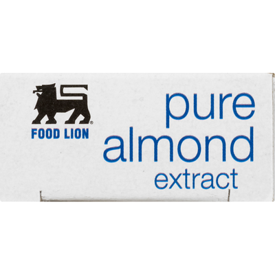 Food Lion Almond Extract, Pure, Box