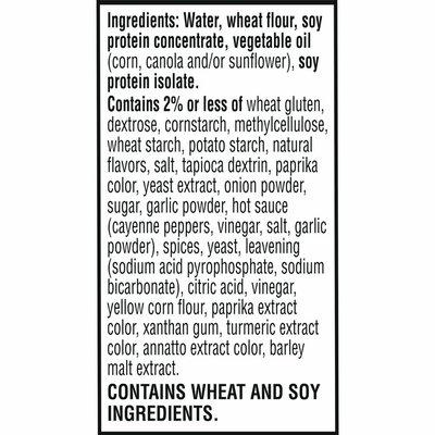 Morning Star Farms Meatless Chicken Patties, Plant Based Protein Vegan Meat, Frozen Meal, Buffalo