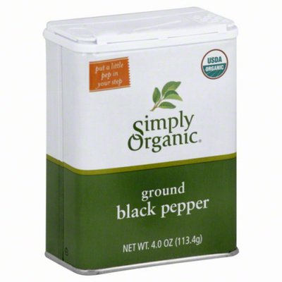 Simply Organic Black Pepper, Ground