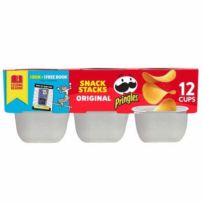 Pringles Potato Crisps Chips, Lunch Snacks, Office and Kids Snacks, Original