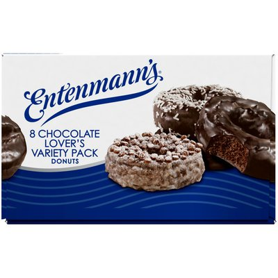 Entenmann's Chocolate Lovers Variety Pack Donuts