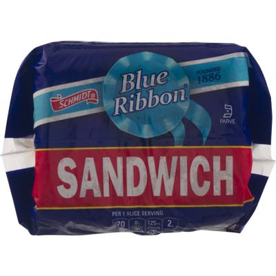 Schmidt's Blue Ribbon Enriched Bread Sandwich