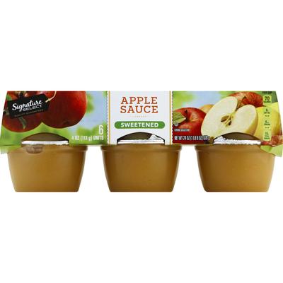 Signature Kitchens Apple Sauce, Sweetened