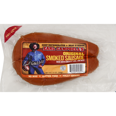 Earl Campbell's Smoked Sausage