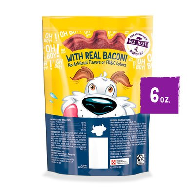 Purina Beggin' Strips Real Meat Dog Treats, Bacon & Beef Flavors