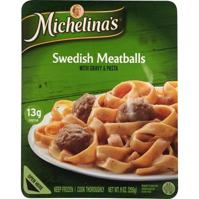 Michelina's Swedish Meatballs, with Gravy & Pasta