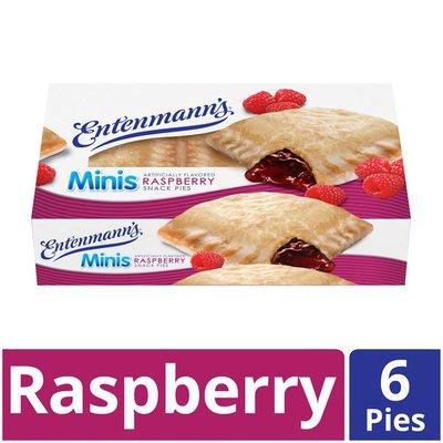 Entenmann's Minis Raspberry Snack Pies
