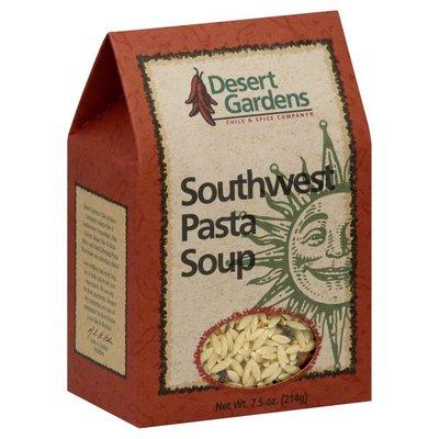 Desert Gardens Pasta Soup, Southwest