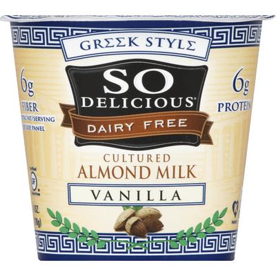 So Delicious Vanilla Dairy Free Yogurt