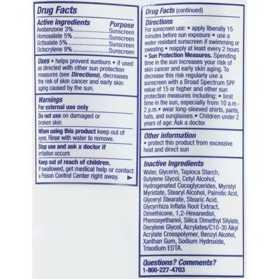 Eucerin Dry Skin 2 in 1 Moisturizer + Sunscreen Daily Hydration Cream