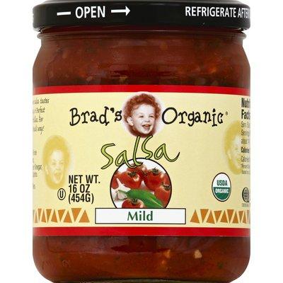 Brads Organic Salsa, Mild