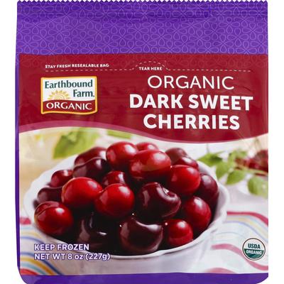Earthbound Farms Cherries, Dark Sweet, Organic