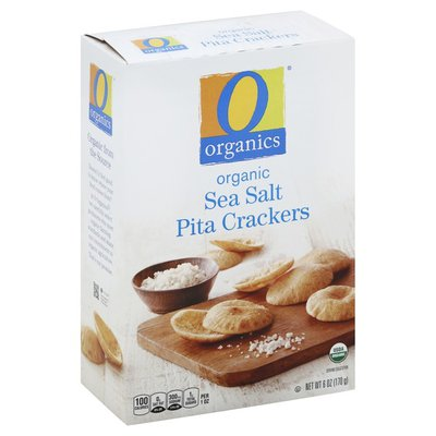 O Organics Organic Sea Salt Pita Crackers