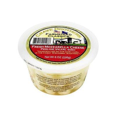 Crave Brothers Perline Fresh Mozzarella Cheese