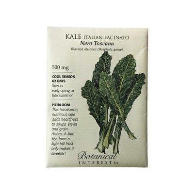 Botanical Interests Lacinto Kale