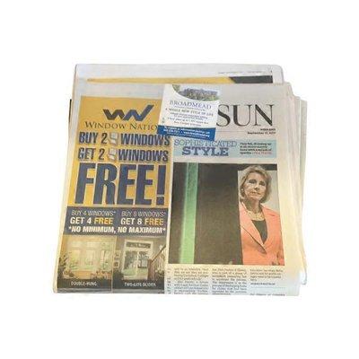 Baltimore Sun Sunday Newspaper
