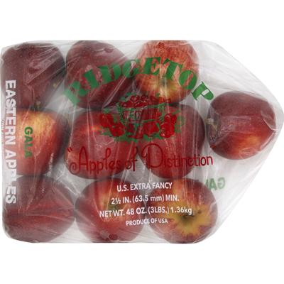 Apples, Eastern, Gala
