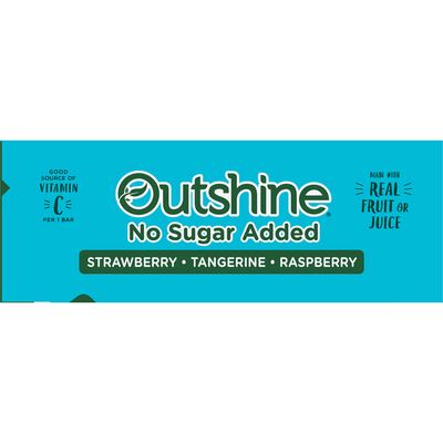 Outshine Fruit Bars,Variety, No Sugar Added