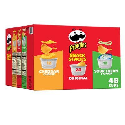 Pringles Potato Crisps Chips Variety Pack