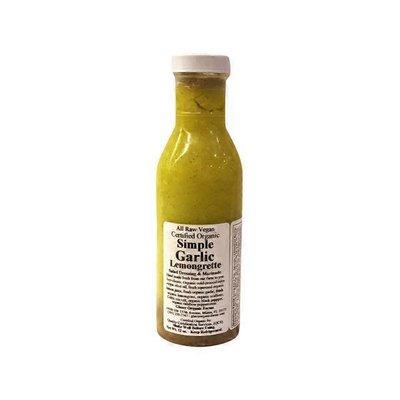 Glaser Organic Farms Simple Garlic Lemongrette Salad Dressing & Marinade