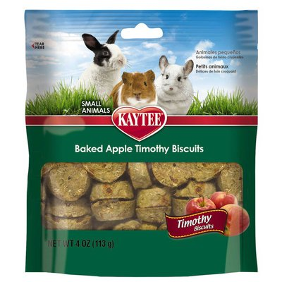 Kaytee Timothy Biscuits Baked With Apples Small Animal Treats