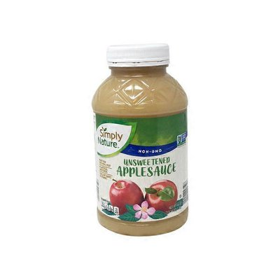 Simply Nature Unsweetened Apple Sauce