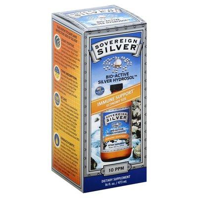 Sovereign Silver Silver Hydrosol, Bio-Active, 10 ppm, Economy Size